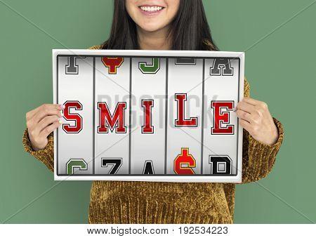 Slot Machine Gamble Happy Dream Smile