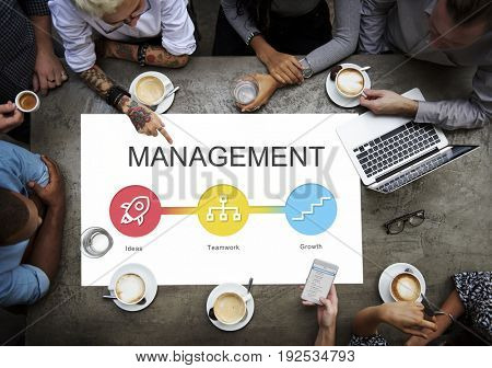 Business Development Strategy Results Concept
