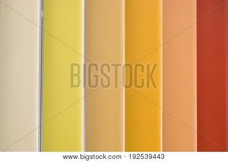 colorful ceramic tiles - variation of different colored tiles - tile color samples