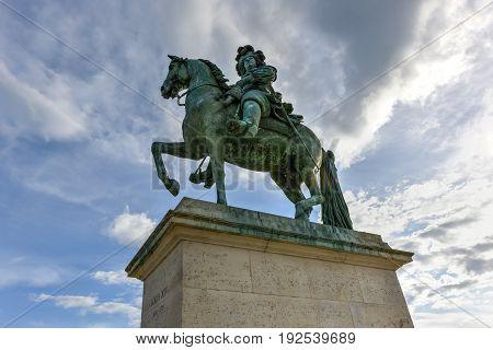 Monument To Louis Xiv - Versailles, France