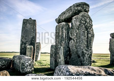 the inner circle at stonehenge monument unknown creator