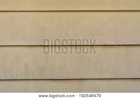 old wooden siding on a garage wall