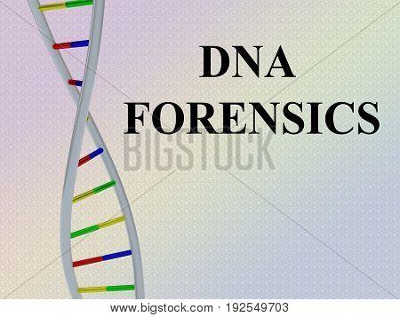 Dna Forensics Concept
