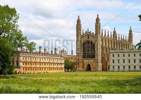 King's college chapel at Cambridge Cambridgeshire England United Kingdom