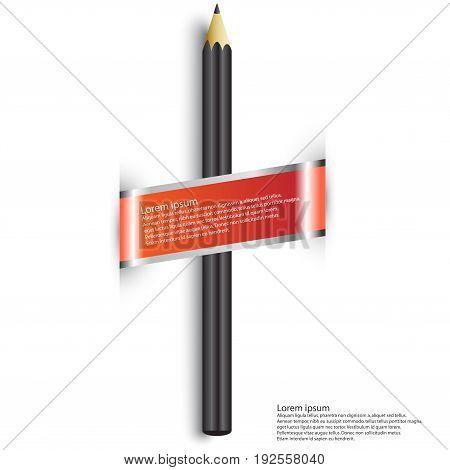 Pencil Icon Vector.