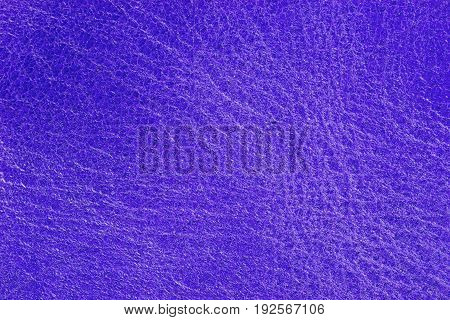 Blue purple leather texture background for fashion, furniture or interior concept design.