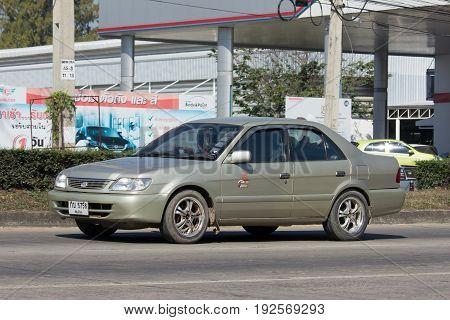 Private City Car, Toyota Vios. Four Door Subcompact Sedan