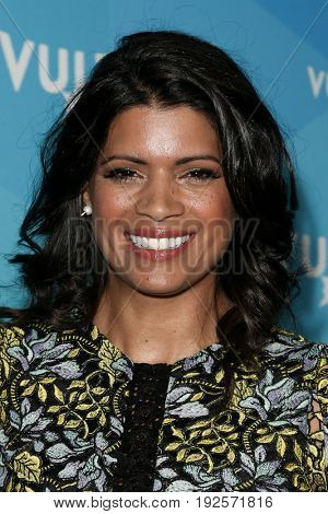 NEW YORK-MAY 20: Andrea Navedo attends the 'Jane the Virgin' tv show pane during the 2017 Vulture Festival at Milk Studios on May 20, 2017 in New York City.