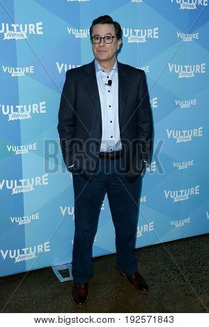 NEW YORK-MAY 20: Stephen Colbert attends the 'State of the Union with Stephen Colbert and Frank Rich' during the 2017 Vulture Festival at Milk Studios on May 20, 2017 in New York City.
