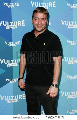 NEW YORK-MAY 21: Peter Billingsley attends 'Tim Ferris and Vince Vaughn: In  Conversation' during the 2017 Vulture Festival at Milk Studios on May 21, 2017 in New York City.