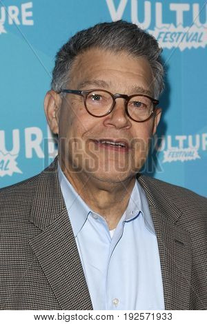 NEW YORK-MAY 21: Senator Al Franken attends 'Al Franken and Robert Smigel: In Conversation' during the 2017 Vulture Festival at Milk Studios on May 21, 2017 in New York City.