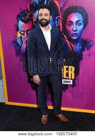 LOS ANGELES - JUN 20:  James Martinez arrives for the AMC Season Two 'Preacher' Premiere Screening on June 20, 2017 in Los Angeles, CA