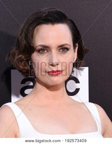 LOS ANGELES - JUN 20:  Julie Ann Emery arrives for the AMC Season Two 'Preacher' Premiere Screening on June 20, 2017 in Los Angeles, CA