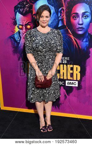 LOS ANGELES - JUN 20:  Meredith Salenger arrives for the AMC Season Two 'Preacher' Premiere Screening on June 20, 2017 in Los Angeles, CA