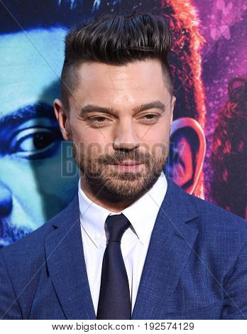 LOS ANGELES - JUN 20:  Dominic Cooper arrives for the AMC Season Two 'Preacher' Premiere Screening on June 20, 2017 in Los Angeles, CA