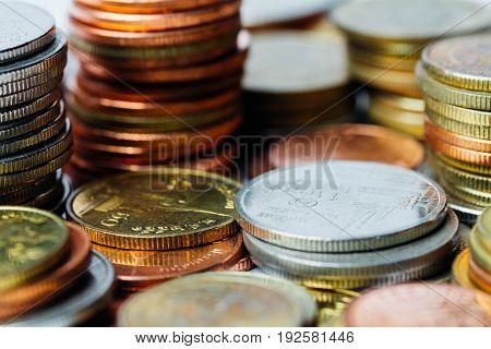 Thai Baht Coins Money, Financial, Investment