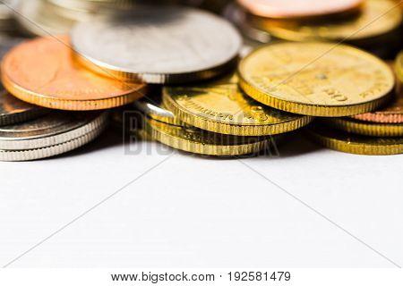 Thai Baht Coins Money