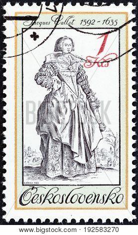 CZECHOSLOVAKIA - CIRCA 1983: A stamp printed in Czechoslovakia from the