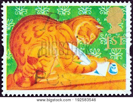 UNITED KINGDOM - CIRCA 1994: A stamp printed in United Kingdom from the