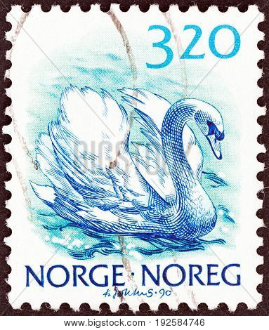 NORWAY - CIRCA 1988: A stamp printed in Norway from the
