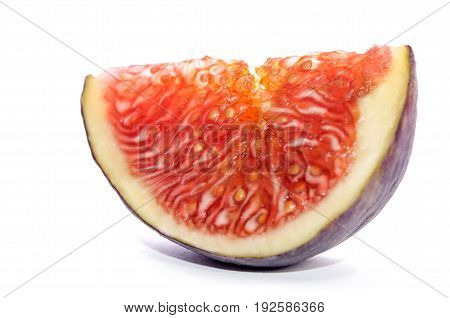 Piece Of Ripe Fig