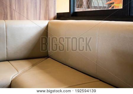 Comfortable sofa Corner for work.Comfortable sofa Corner for work.