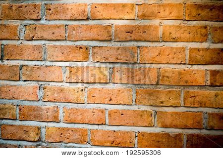 Background of old brick wall texture .