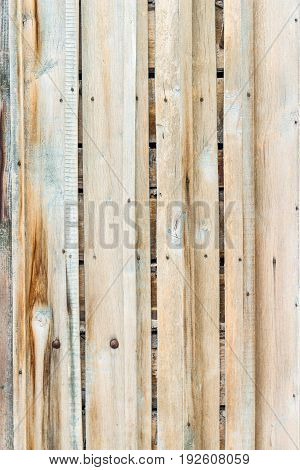 old wooden background with vertical boards .