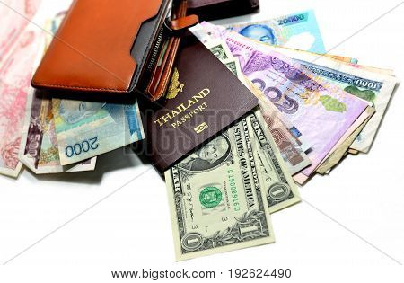 Passport Money And Pocket