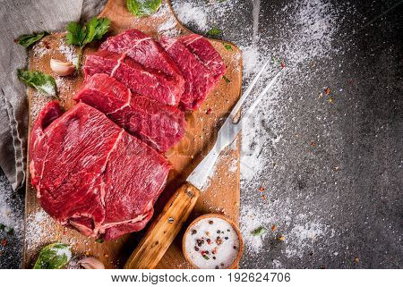 Beef, Veal. Fresh Raw Tenderloin