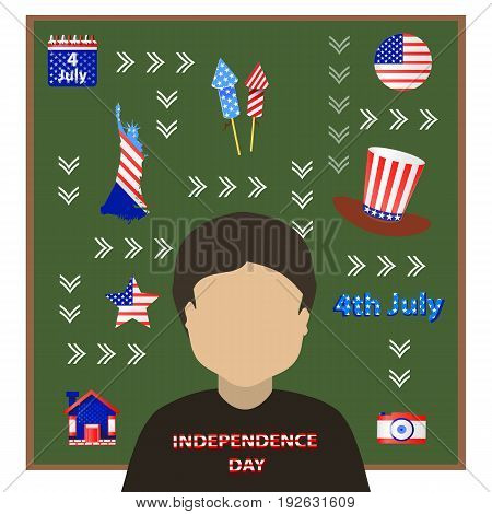 Independence Day United States. The Fourth Of July