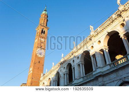 Palladian Basilica View,vicenza,italy