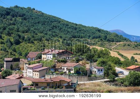Landscape In Basque Country, Spain