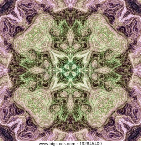 Violet pink symmetry ornate pastel soft kaleidoscopic image background