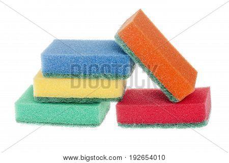 Washing Dishes Sponges