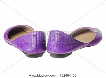 Leather Flat Shoes