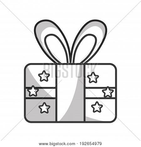 line present gift to celebrate special day vector illustration