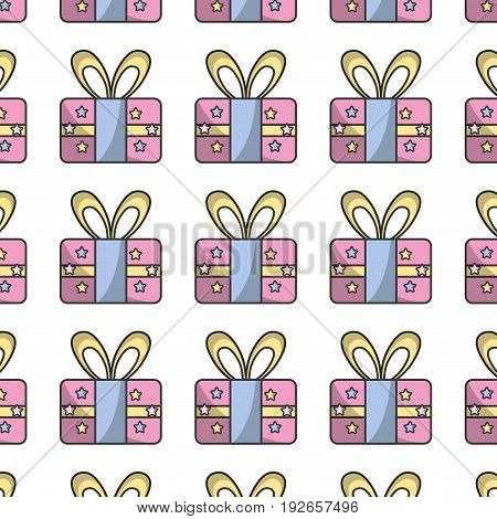 present gift to celebrate special day background vector illustration
