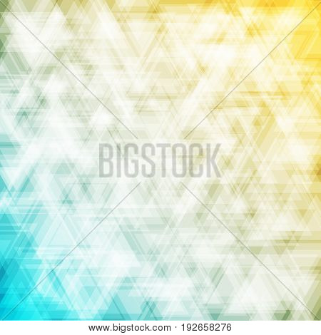 abstract geometric background with tranparency triangle and colorful background