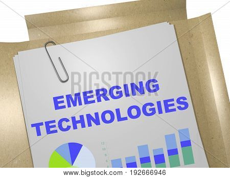 Emerging Technologies Concept