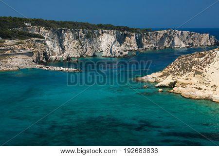 Crystalline sea in the Tremiti islands, Puglia, Italy