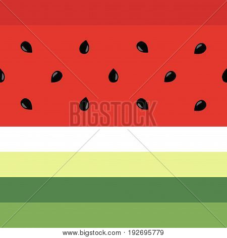 Minimalist watermelon high quality seamless pattern. Cute seamless pattern with watermelons. Vector background. Good for wallpaper invitation cards textile print. Vector trendy illustrations