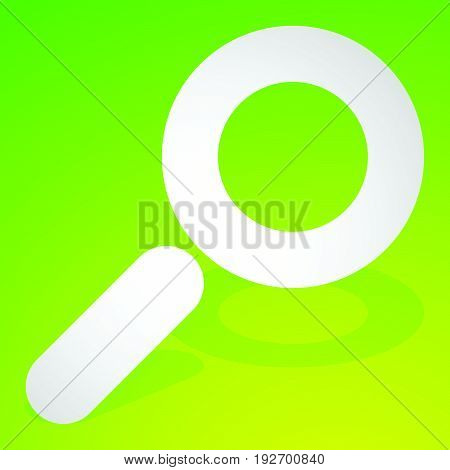 Icon For Search, Details, Zoom, Research Concepts With Magnifier, Magnifying Glass
