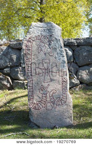 Runestone in Uppsala