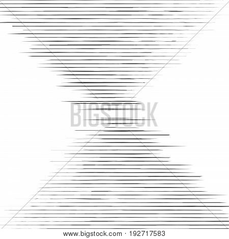 Grid, Mesh Of Straight Parallel Lines. Geometric Pattern / Texture With Lines, Stripes