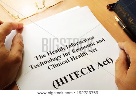 The Health Information Technology for Economic and Clinical Health Act (HITECH Act)