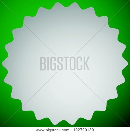 Badge, Label Shape / Background. Promotional Icon. Easy To Change Colors