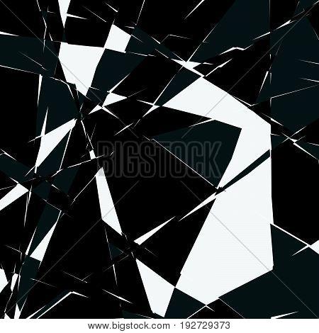 Random Mosaic. Irregular Cobblestone Geometric Pattern. Tessellating Stonework, Brickwork Texture