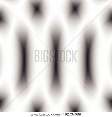 Defocused Faded Monochrome Pattern / Texture. Abstract Op-art Background. Black And White Glow, Shad