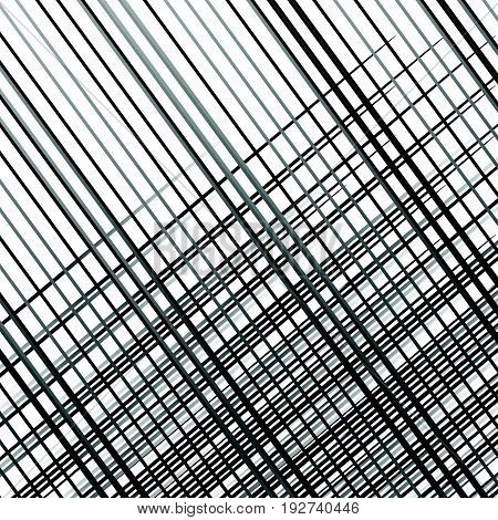 Grid, Mesh Of Lines. Abstract Geometric Pattern